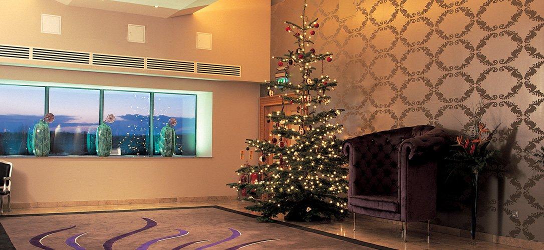christmas inside hotel kilkenny